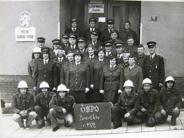 Členové SDH v roce 1978