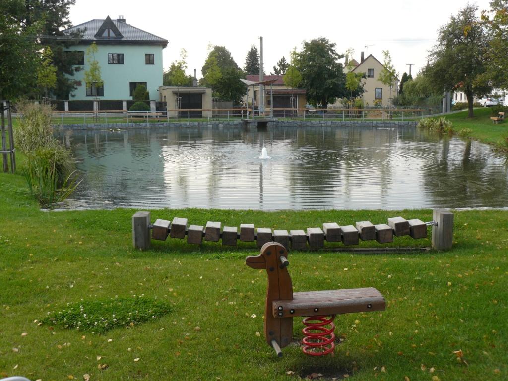 Foto valdeckého rybníka a okolí č.2.