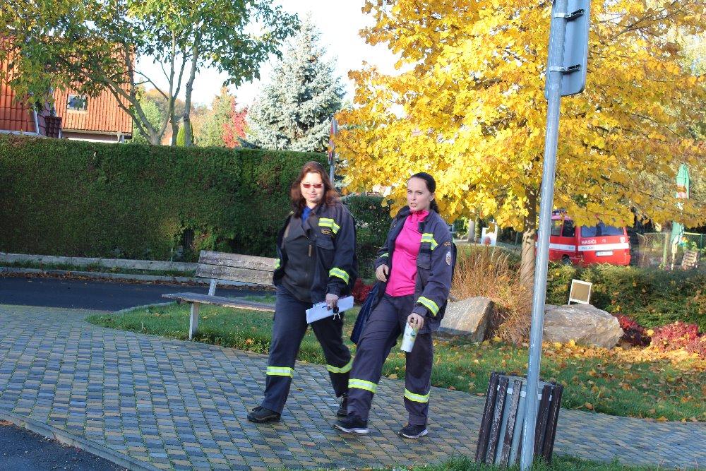3. kolo hasičské ligy u nás na Braškově