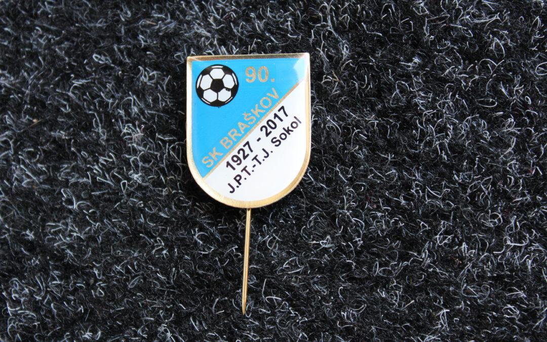 Výroční odznak fotbalového oddílu
