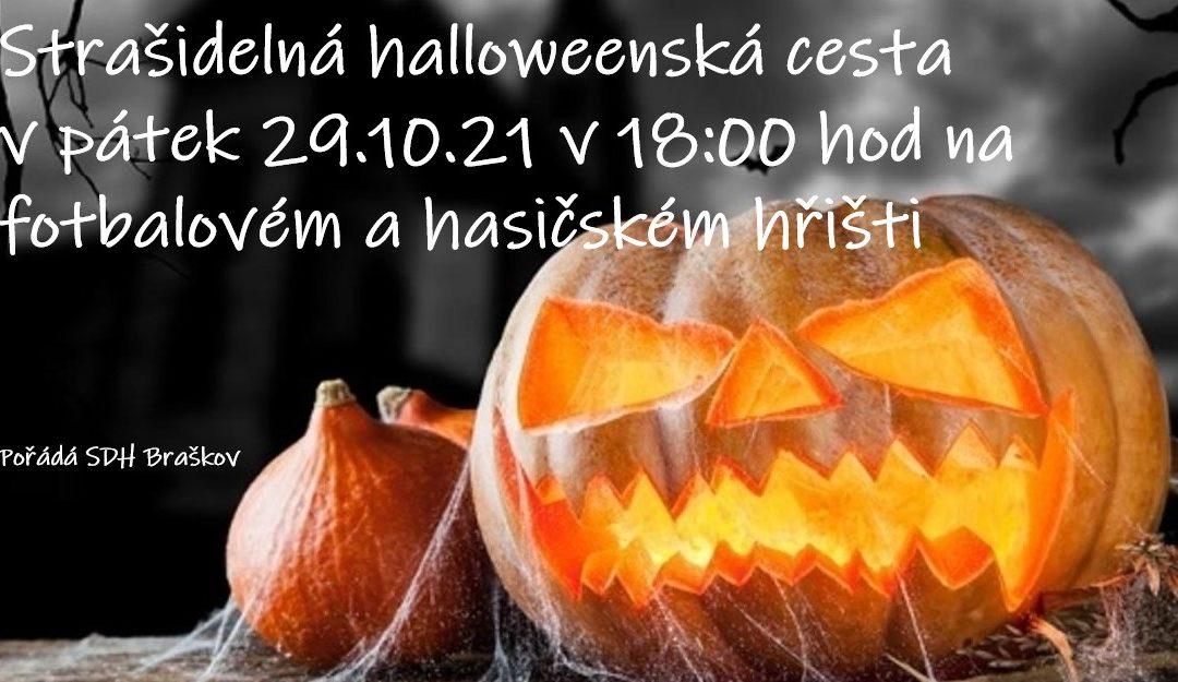 Strašidelná halloweenská cesta v pátek 29.10.21
