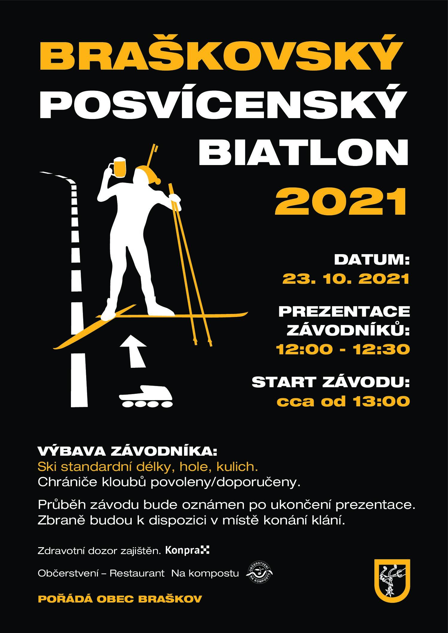 BRAŠKOVSKÝ POSVÍCENSKÝ BIATLON 2021